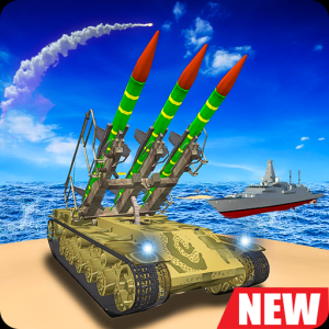 Missile Launcher Battleship:Island Naval Attack Icon