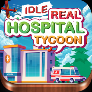 Idle Real Hospital Tycoon - Hospital Builder Game Icon