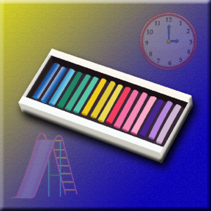 Find The Color Chalk Icon