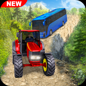 Offroad Tractor Pull Tow Duty Icon