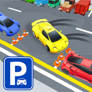 Drift Car Parking 2019: 3D Skiddy Racing Games Icon