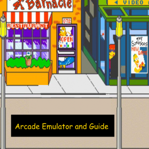 The Simpson 4 players arcade guide Icon