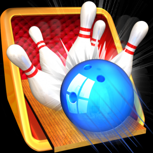 Bowling 3D Game Icon