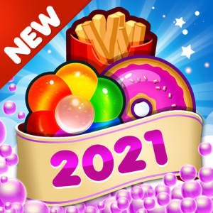 Fast Food 2020 New Match 3 Free Games Without Wifi Icon