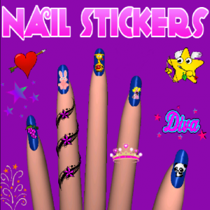 Nail Stickers, Pimp your nails Icon