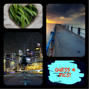 4 Pics 1 Word - Guess Words Pic Puzzle Brain Game Icon