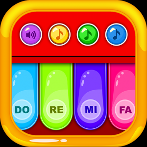 Kids Learn Piano - Musical Toy Icon
