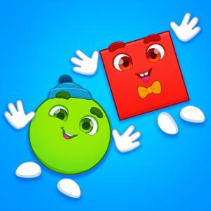 Learning shapes: toddler games for 1 - 4 year olds Icon