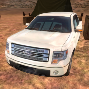 4x4 Truck 3D Icon
