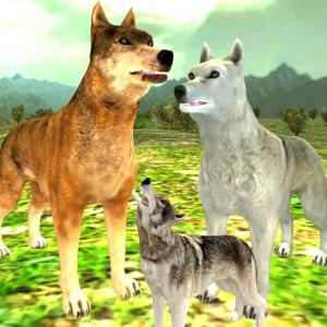 Wolf Family Simulator : RPG Wolf Attack Icon
