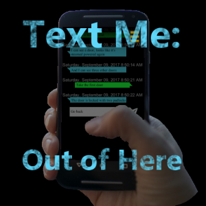Text Me: Out of Here Icon