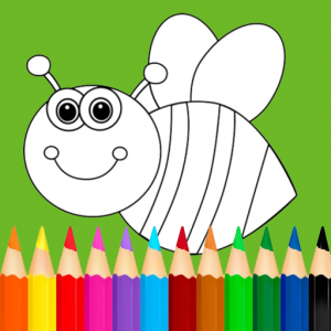 Drawings for children: Paint animals Icon