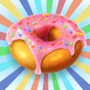 Sweet cute donut - game for children and adults Icon