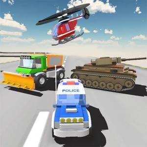 RC Toys Racing and Demolition Car Wars Simulation Icon