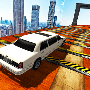 Extreme Limo Mega Ramp - Car Driving Games 3D Icon