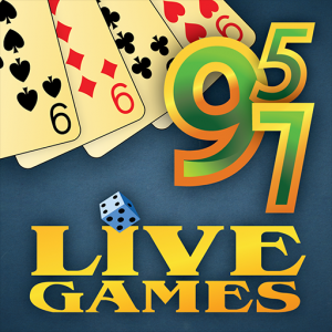 Sevens LiveGames: free online card game Icon