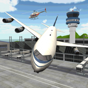 Airplane Parking 3D Icon