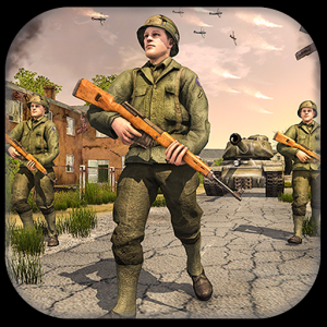 Frontline World War 2 Survival FPS Grand Shooting Icon