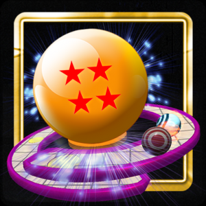 3D BALL IN LINE Icon