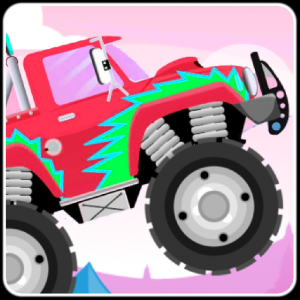 Racing Monster Truck Icon