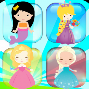 Memory matching games 2-6 year old games for girls Icon