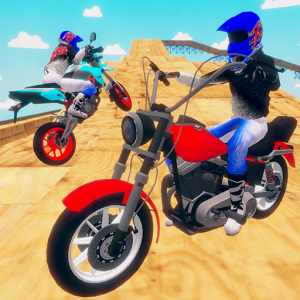 motorcycle infinity driving simulation extreme Icon
