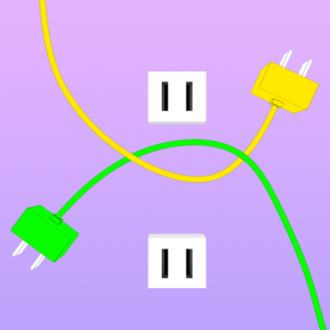 Plug And Play 3D Icon