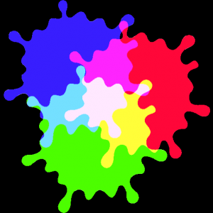 Red Green Blue. Color Mix Icon
