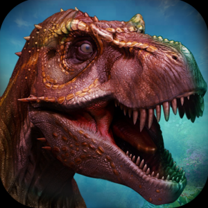 Giant Dino Deadly Wild Hunting Icon