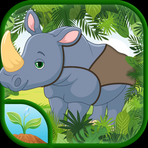 Animals Puzzle - Jigsaw Puzzle Game for Kids Icon