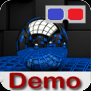 Ping pong - anaglyph 3D (DEMO) Icon