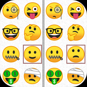 Find the difference - Emoji Icon