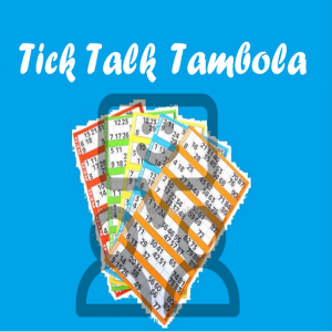 Tick Talk Tambola - Tickets & Number Calling Icon