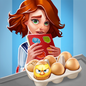 Grand Cafe Story-New Puzzle Match-3 Game 2021 Icon