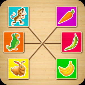 Matching Object Educational Game - Learning Games Icon