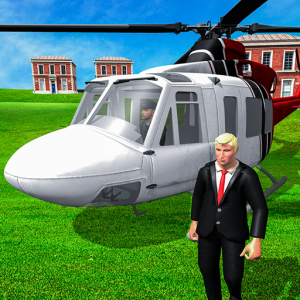US President Escort Helicopter: Air Force VTOL 3D Icon