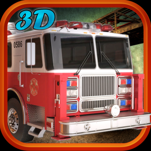 Real Hero FireFighter 3d Game Icon