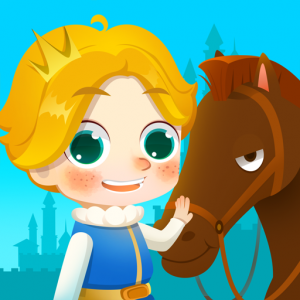 My Little Prince: Pony and Castle Games for kids Icon