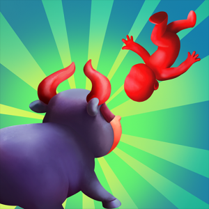Angry Bull Chase Icon